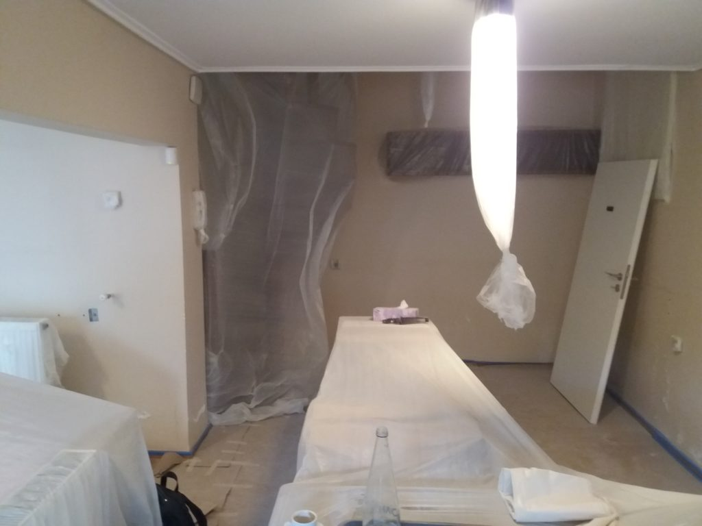 Ανακαίνιση κατοικίας σε υπόγειο