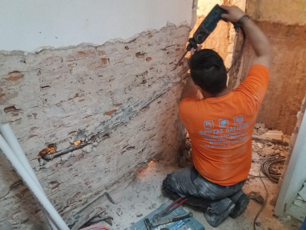 Ανακαίνιση κατοικίας στην Γλυφάδα