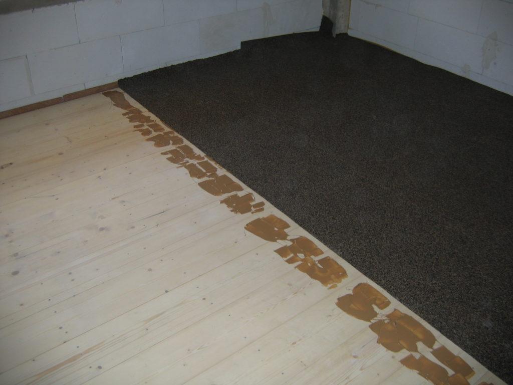 Ανακαίνιση κατοικίας ηχομόνωση ξύλινου δαπέδου