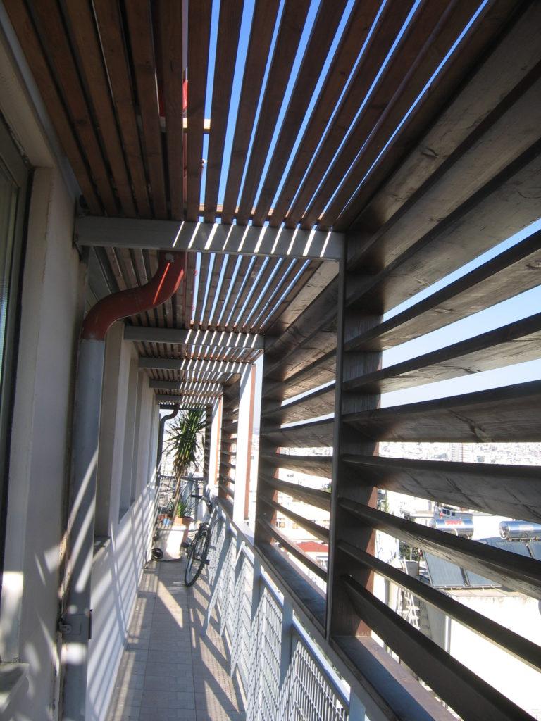 ανακαίνιση διαμερίσματος κατασκευή σκίαστρων