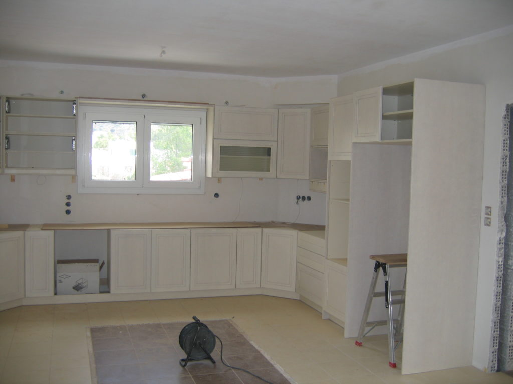 Ανακαίνιση οικίας κουζίνα