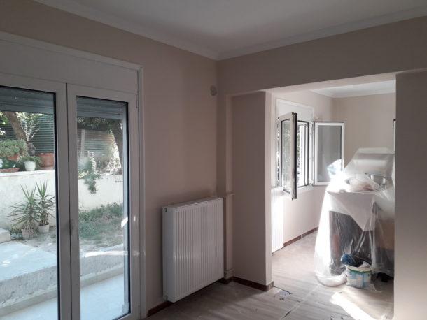 Ανακαίνιση παλαιάς κατοικίας στην Μεταμόρφωση