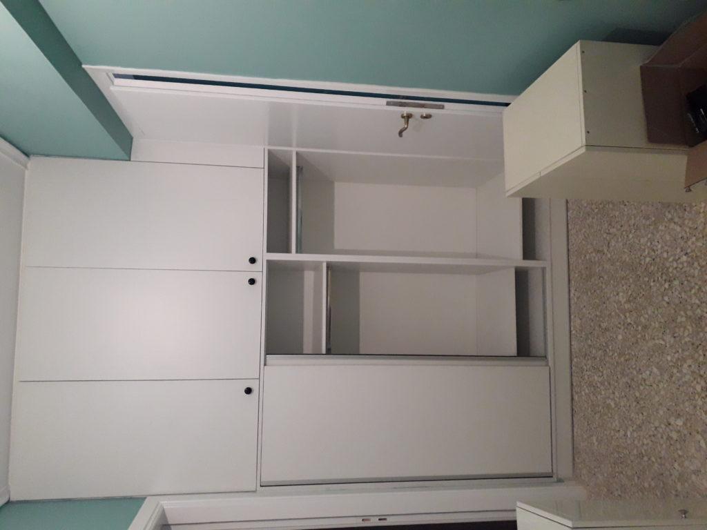 κατασκευή νέας ντουλάπας από μελαμίνη