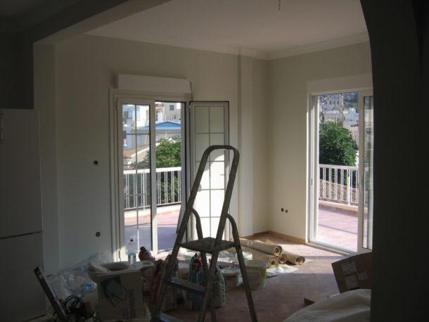 Ανακαίνιση σπιτιού στο κέντρο Αθήνα