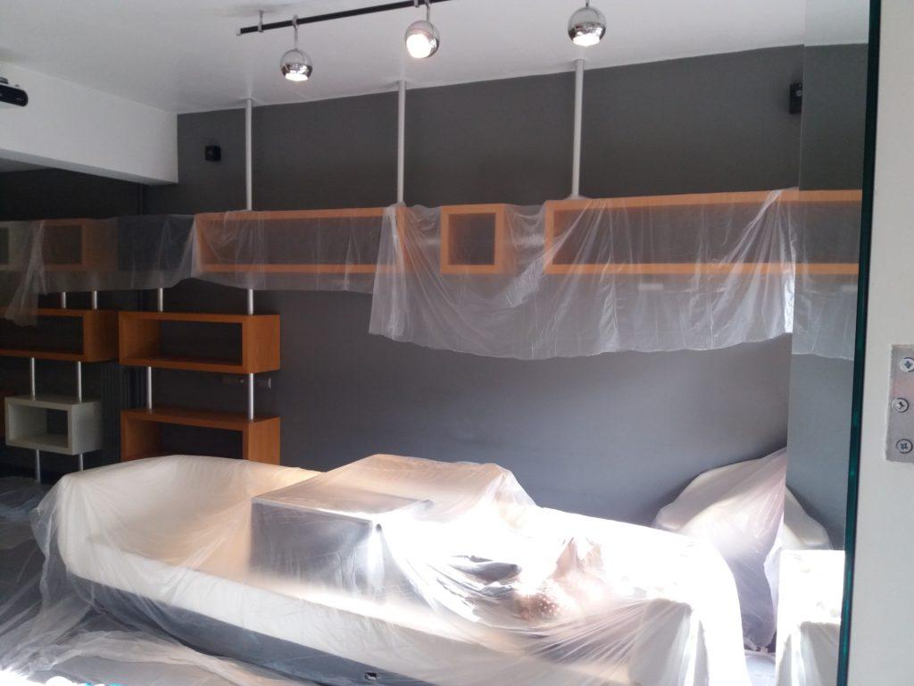 ανακαίνιση σπιτιού προετοιμασία πριν το βάψιμο