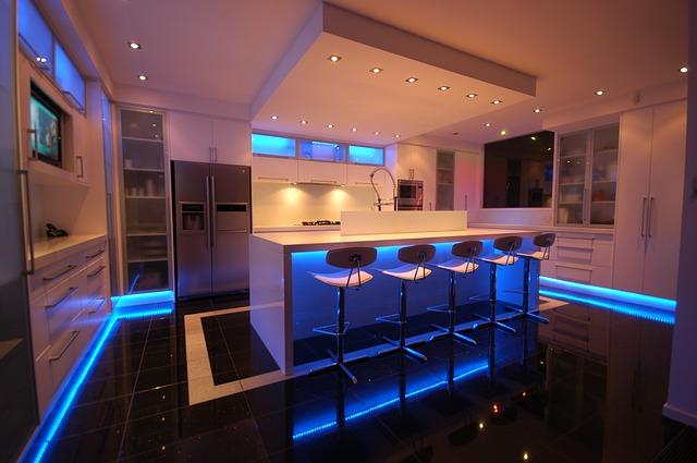Ανακαίνιση κουζίνας φωτισμός