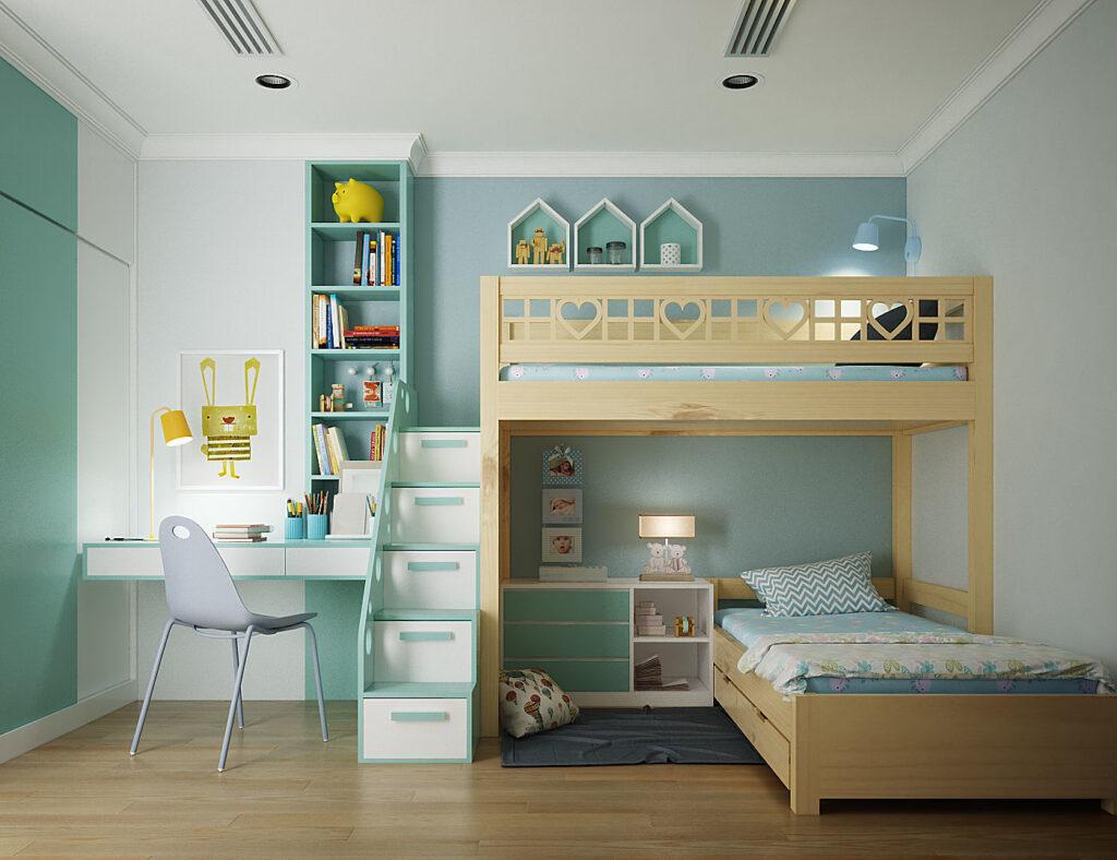 χρώμα σε παιδικό δωμάτιο