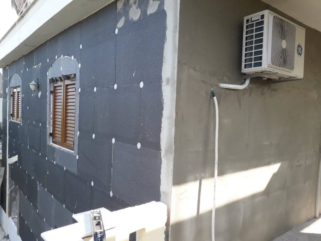 εξωτερική θερμομόνωση σπιτιού
